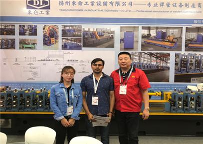 扬州东仑工业设备公司-孟加拉客户